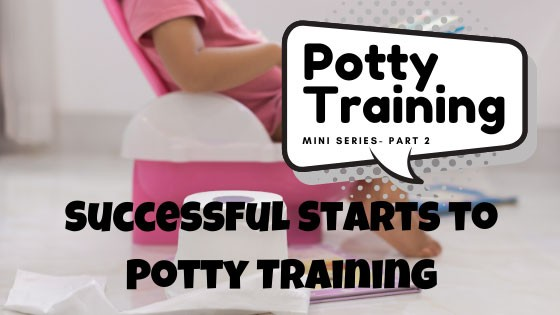 Successful Starts to Potty Training